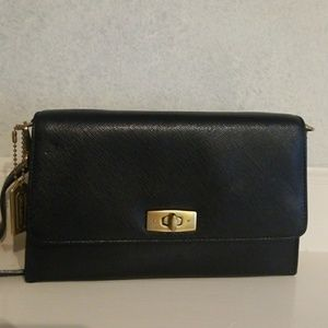 Coach Leather Gramercy Convertible Bag